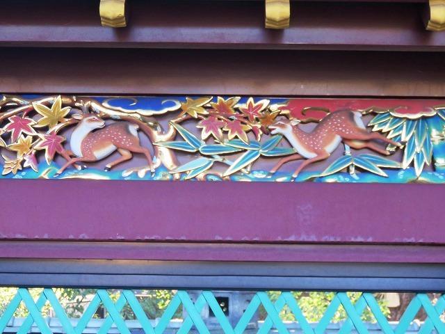 上野東照宮の社殿と透塀_c0187004_09251826.jpg