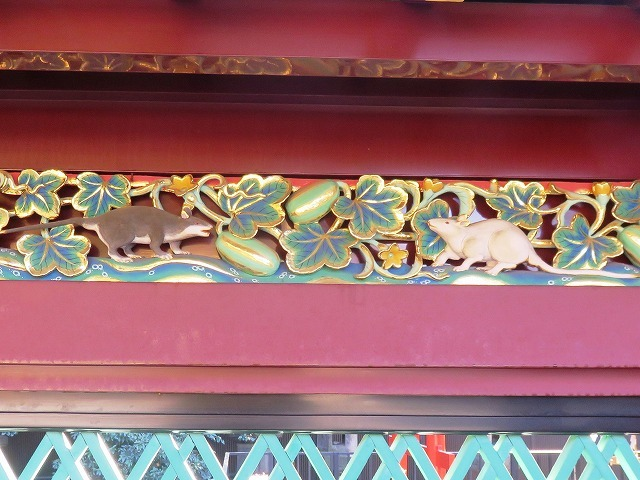 上野東照宮の社殿と透塀_c0187004_09260059.jpg