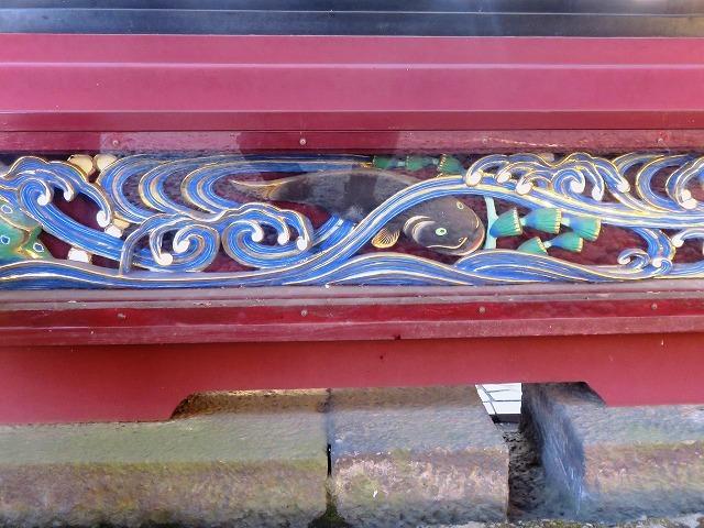 上野東照宮の社殿と透塀_c0187004_09270723.jpg