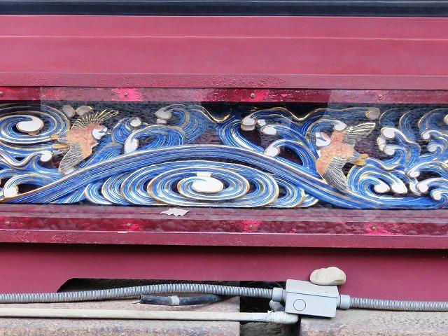 上野東照宮の社殿と透塀_c0187004_09272802.jpg