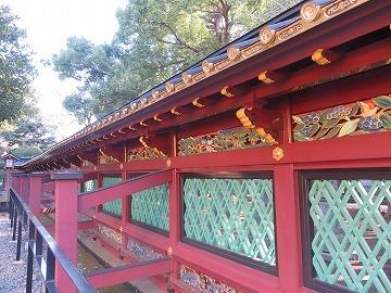 上野東照宮の社殿と透塀_c0187004_09352999.jpg