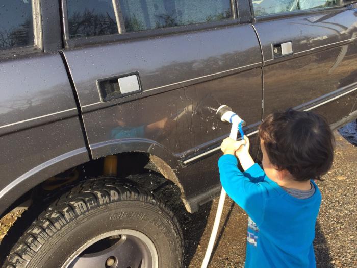 快晴!洗車日和が続いています。_b0176010_13470498.jpg