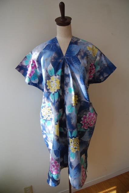 着物リメイク・浴衣で作る簡単ワンピース&パンツ_d0127925_024224.jpg