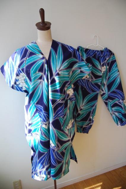 着物リメイク・浴衣で作る簡単ワンピース&パンツ_d0127925_0243547.jpg