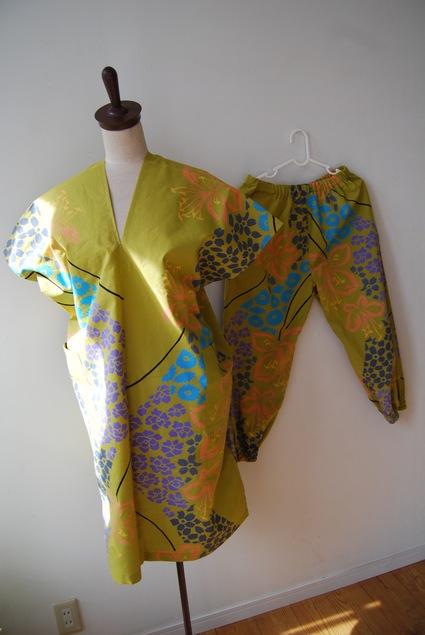 着物リメイク・浴衣で作る簡単ワンピース&パンツ_d0127925_024505.jpg