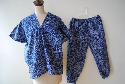 着物リメイク・浴衣で作る簡単ワンピース&パンツ_d0127925_025333.jpg