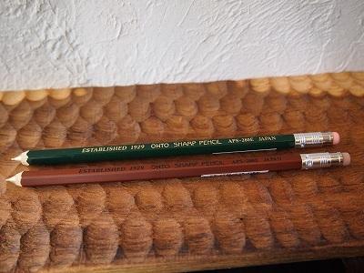 2/19 OHTO木軸シャープペン&SIERRA 木軸ボールペン再入荷しました_f0325437_16585679.jpg