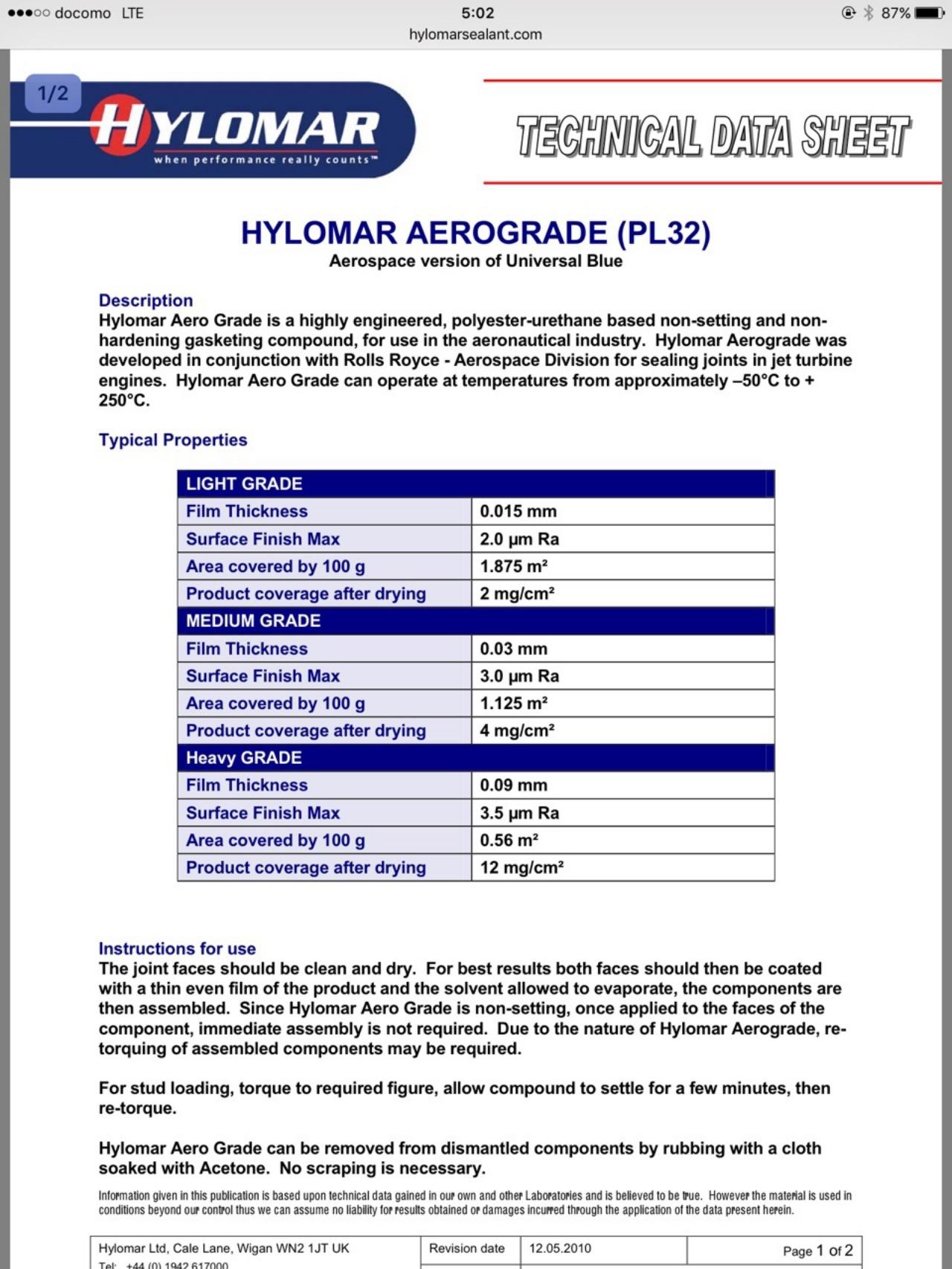 【K1】ミッションケース封鎖作戦〜Hylomar Aerograde〜_e0159646_5113016.jpg
