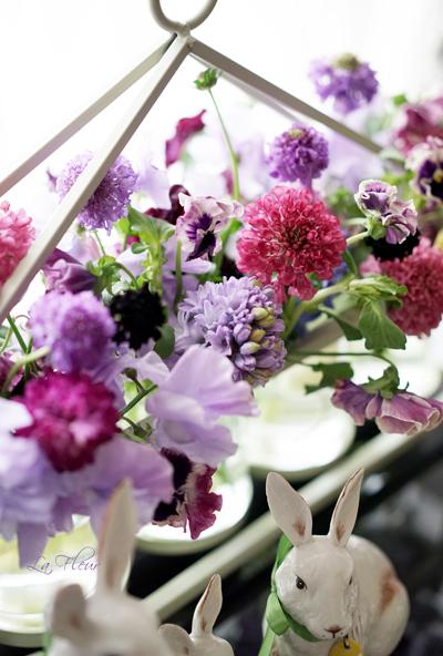 お出迎えのお花たち♪_f0127281_21214381.jpg