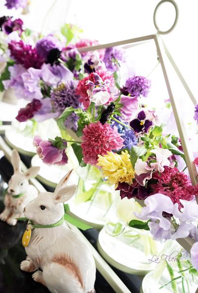 お出迎えのお花たち♪_f0127281_2122441.jpg