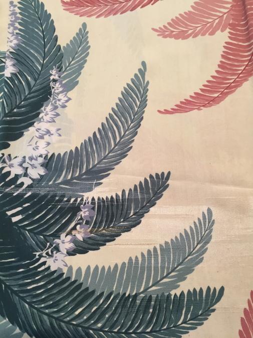 横浜上大岡「今昔きもの市」アンティーク羽織色々!薔薇・葉模様♪販売商品23_c0321302_17324481.jpg