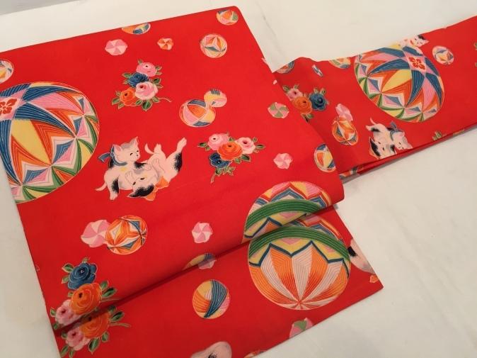 可愛い♪オリジナル猫帯入荷です!横浜上大岡「今昔きもの市」販売商品27_c0321302_22040950.jpg