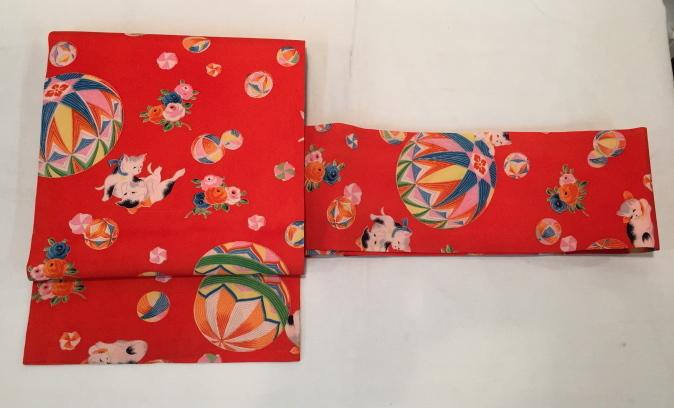 可愛い♪オリジナル猫帯入荷です!横浜上大岡「今昔きもの市」販売商品27_c0321302_22041835.jpg