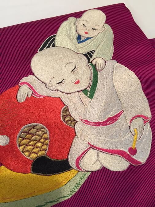 可愛い♪オリジナル猫帯入荷です!横浜上大岡「今昔きもの市」販売商品27_c0321302_22055340.jpg