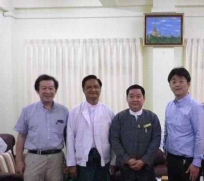 ヤンゴン歯科大学訪問_e0279107_17061486.jpg