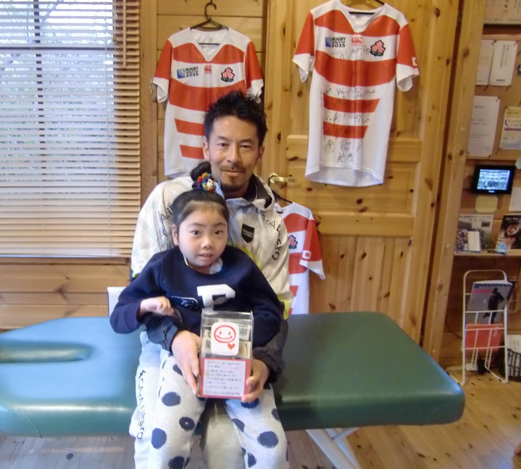 募金箱 in Sato.sports! _e0228928_23271092.jpg