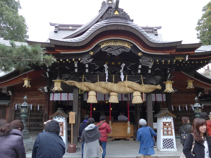 福岡「櫛田神社」へ行く。_f0232060_23382155.jpg
