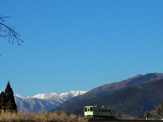 雪景色の樽見鉄道_f0266284_23080275.jpg