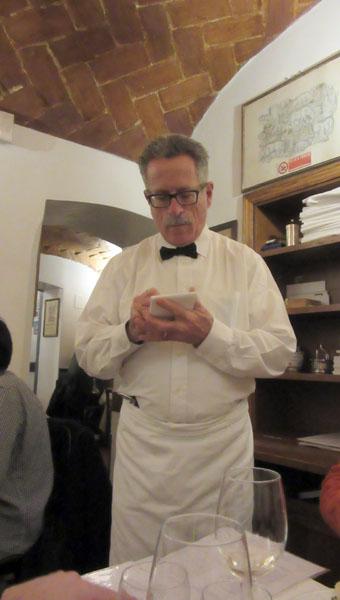 ずーっと行きたかったフィレンツェ老舗トラットリアであのメニューを食す!!_c0179785_2041731.jpg