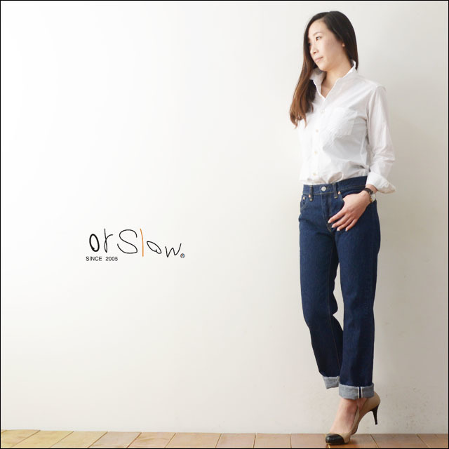 orslow [オアスロウ] STANDARD 5POCKET DENIM ONE WASH [00-1050-81] LADY\'S_f0051306_19415624.jpg
