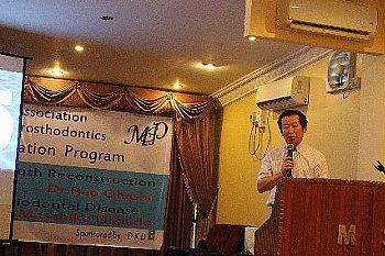 ヤンゴン(ミャンマー)で講演_e0279107_15061665.jpg