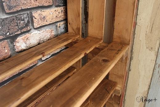 DIY押入れ改造3:ひと手間加えたスノコで使い勝手のいい収納棚♪_f0023333_10125618.jpg