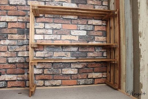 DIY押入れ改造3:ひと手間加えたスノコで使い勝手のいい収納棚♪_f0023333_10130697.jpg