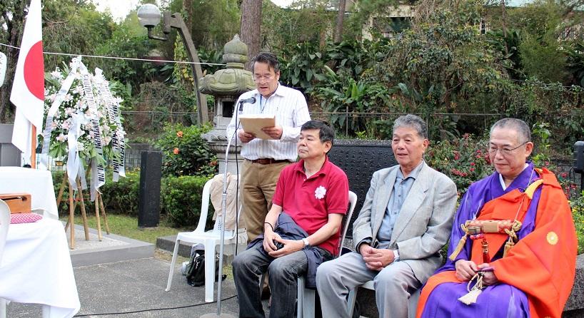 フィリピン・バギオ戦没者慰霊祭 : 毎年2月に開催されています_a0109542_1230381.jpg