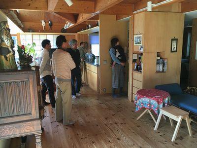 「築16年目のOMソーラーの家」見学会、大盛況でした。_a0059217_23585156.jpg