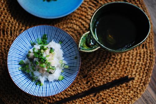 黒七味風味 真鯛のゴマ茶漬け_d0159822_21232171.jpg