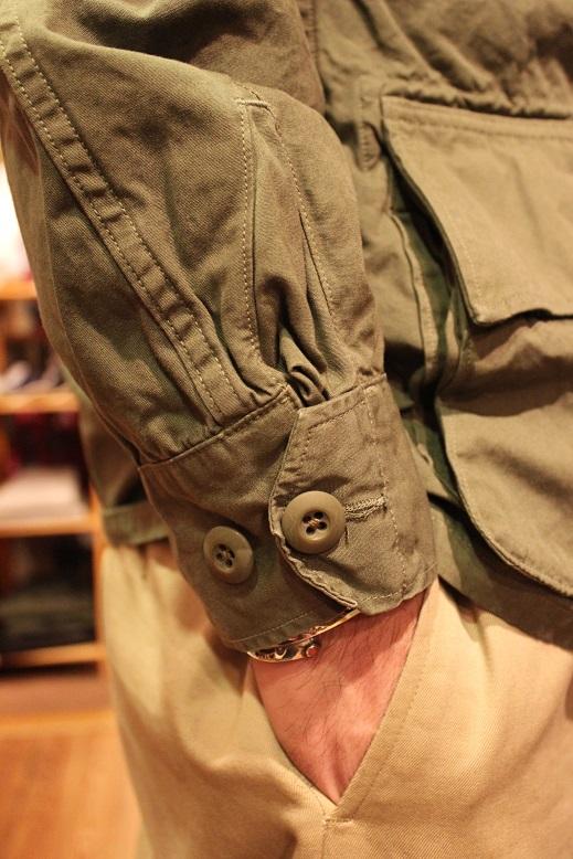 "orSlow \""US ARMY JACKET & HAT\"" ご紹介_f0191324_9141097.jpg"