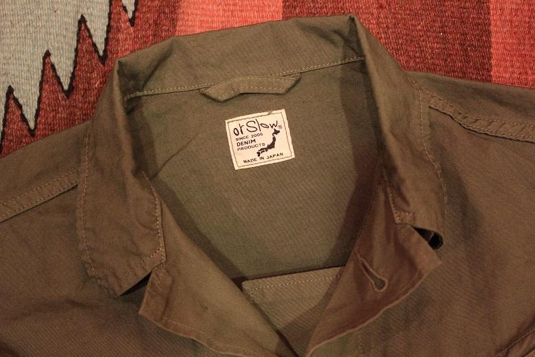"orSlow \""US ARMY JACKET & HAT\"" ご紹介_f0191324_9145259.jpg"
