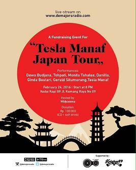 """映像:インドネシアのギタリスト・Tesla Manaf の日本ツアー \""""WE END UP FLYING TOGETHER\""""_a0054926_23584420.jpg"""