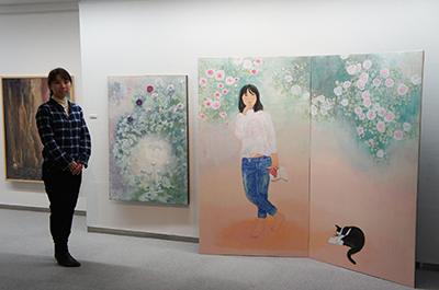 髙岡由佳・髙岡星花日本画二人展開催中です。_f0171840_17530100.jpg