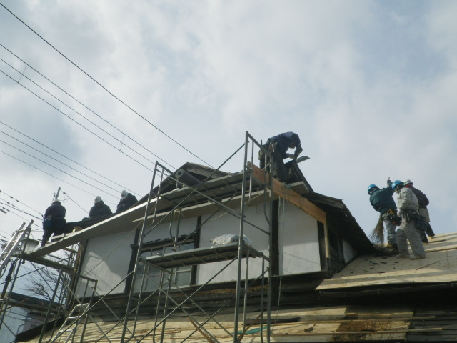 ミル屋根。。。1_b0207642_001868.jpg