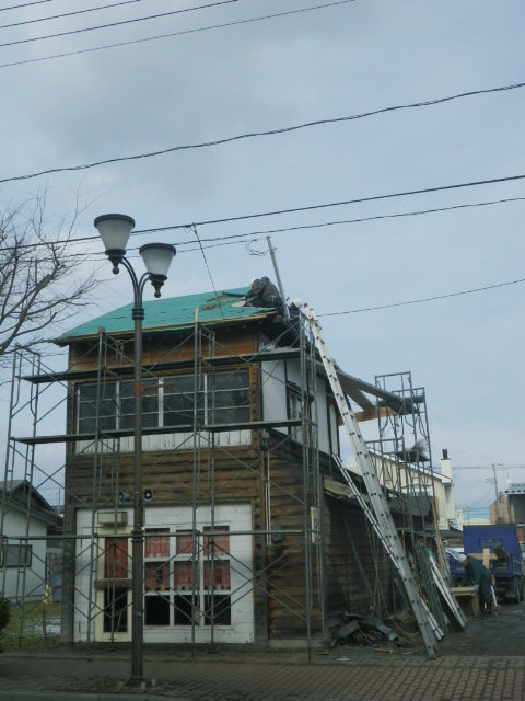 ミル屋根。。。1_b0207642_23534749.jpg