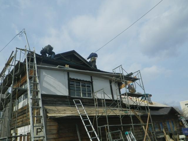 ミル屋根。。。1_b0207642_23543051.jpg