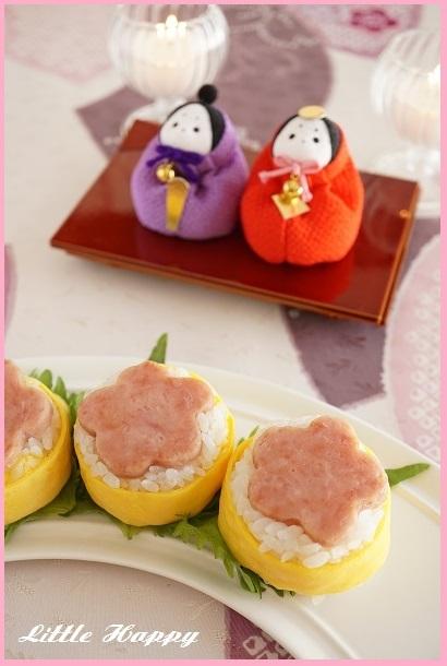 ひなまつりに「スパム寿司」♪_d0269651_12051435.jpg