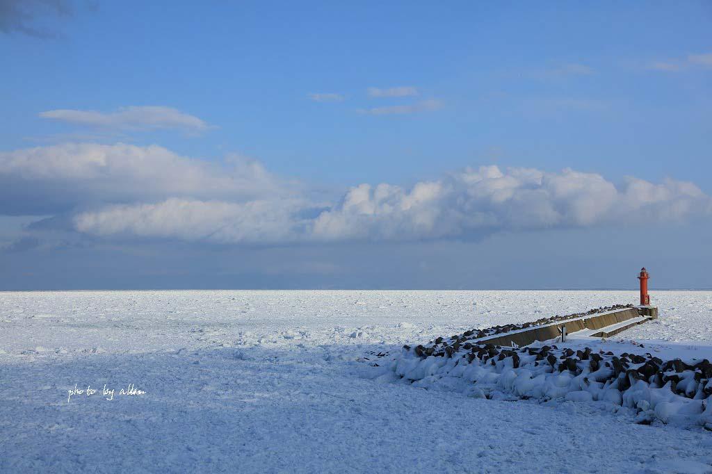 おそい~~おそい~~流氷がきたんだよね~_a0039860_18503054.jpg