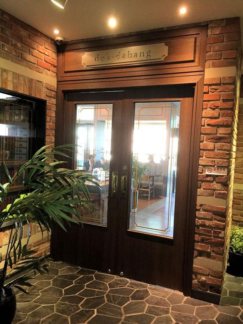 おひとりソウル その19 歴史ある絶景カフェに感激♪トクスリタバン@新村_f0054260_174488.jpg