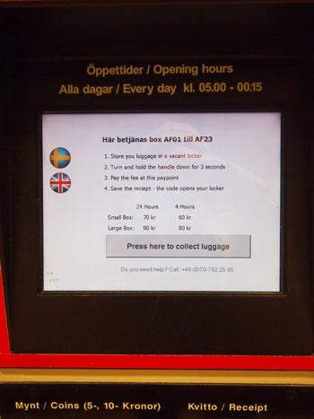 ストックホルム中央駅のロッカー_a0341668_1151145.jpg