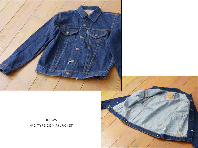 orslow [オアスロウ] 3RD TYPE DENIM JACKET OW [01-6005-81] MEN\'S_f0051306_21002935.jpg
