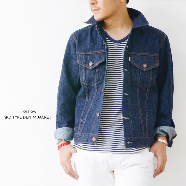 orslow [オアスロウ] 3RD TYPE DENIM JACKET OW [01-6005-81] MEN\'S_f0051306_21002957.jpg
