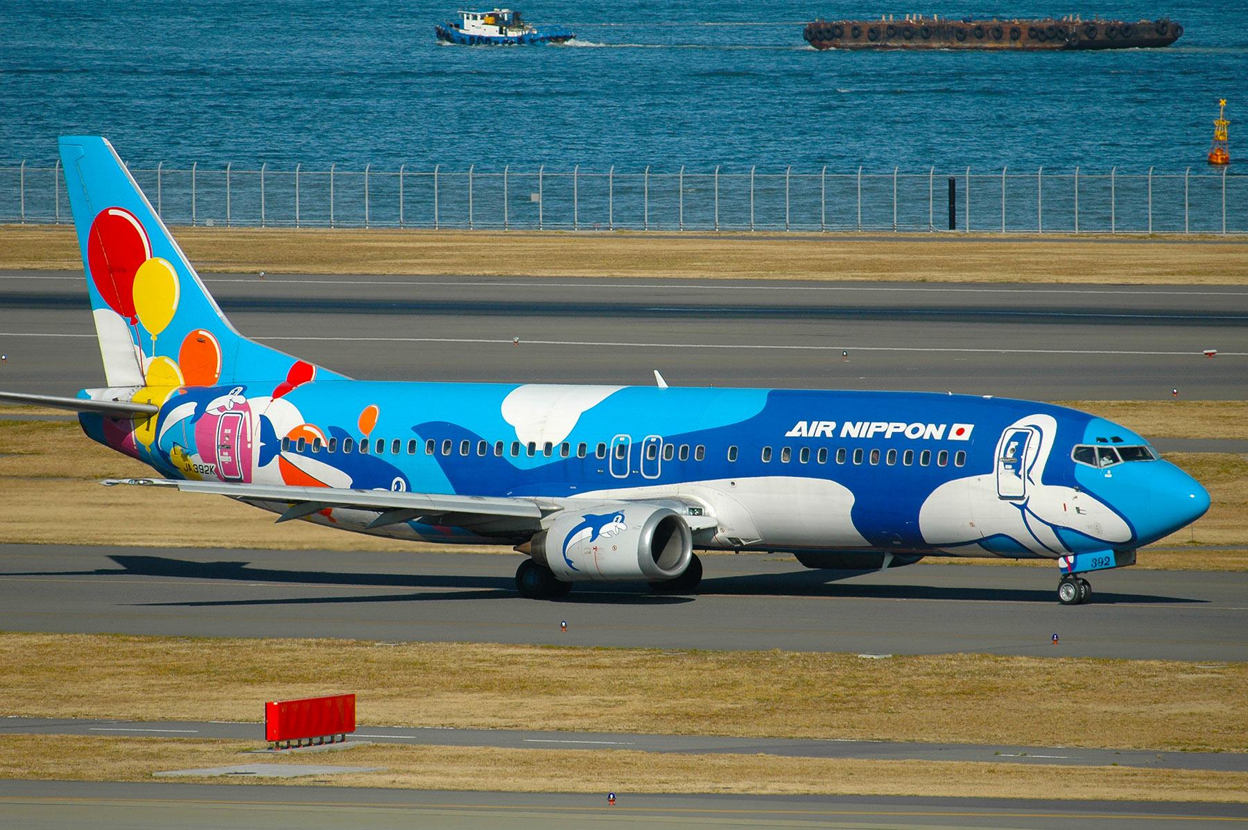 BOEING 737-400 / JA392K - アイ...