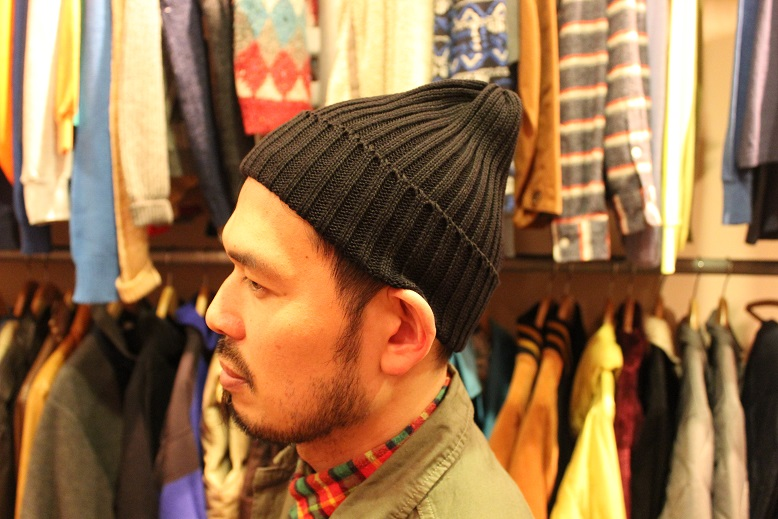 "HIGHLAND2000 別注 ""Cotton Watchcap\"" ご紹介_f0191324_940073.jpg"