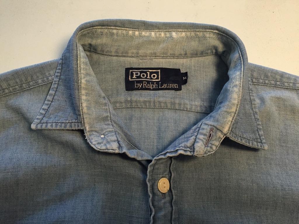 シャツ襟擦れ リペア ラルフローレン_b0178425_1112336.jpg