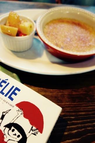 今週のメニュー〜アメリのクレームブリュレ〜好評です!_a0017350_22110594.jpg