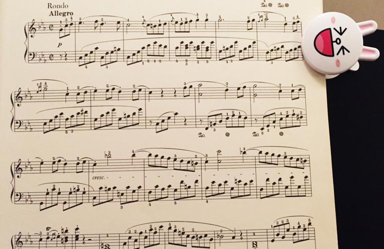 ベートーヴェン 悲愴ソナタ 第3楽章 練習はじめました ^^_f0191870_20450738.jpg