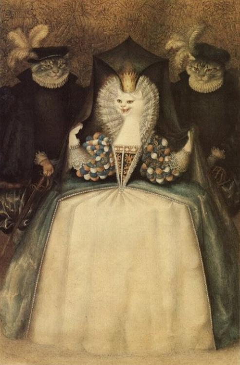 ガナディ・スピリン画の「白猫」_c0084183_8595264.jpg