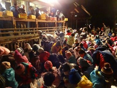 白山神社春祭り・子どもサンヨ_b0092684_1823656.jpg